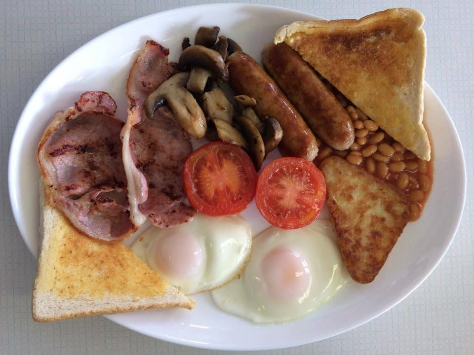 Shirley's Cafe cooked breakfast
